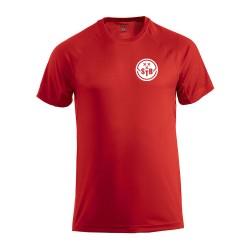 Tennisshirt  Rood - Heren