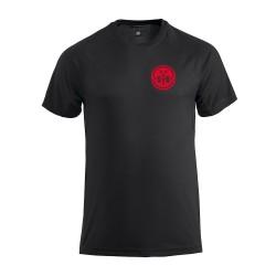 Tennisshirt Zwart - Heren