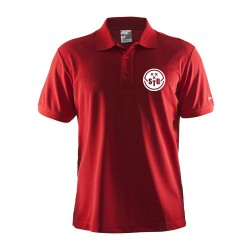 Craft Polo Rood - Heren