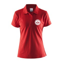Craft Polo Rood - Dames