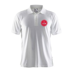 Craft Polo Wit - Heren