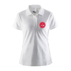 Craft Polo Wit - Dames
