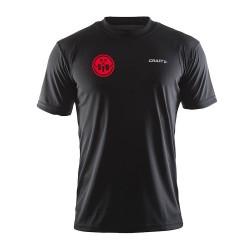 Craft Tennisshirt Zwart - Heren